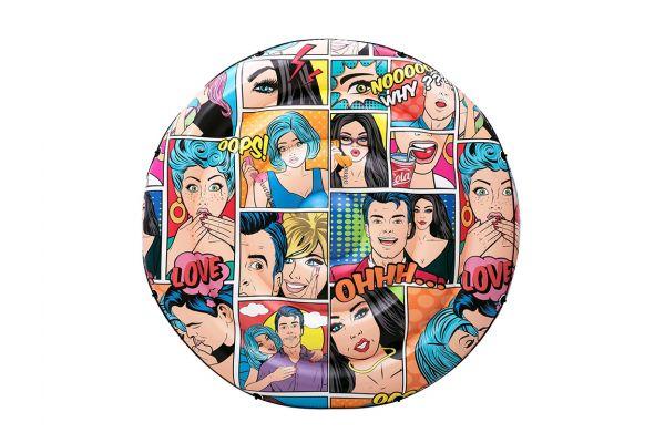 Isola gonfiabile Pop Comics per adulti